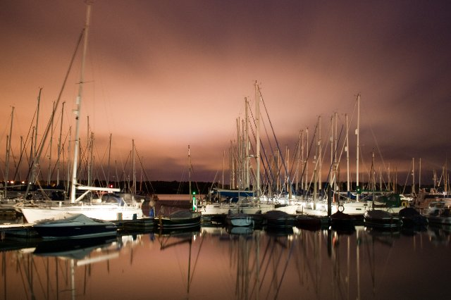 Woolvestone Marina on the River Orwell