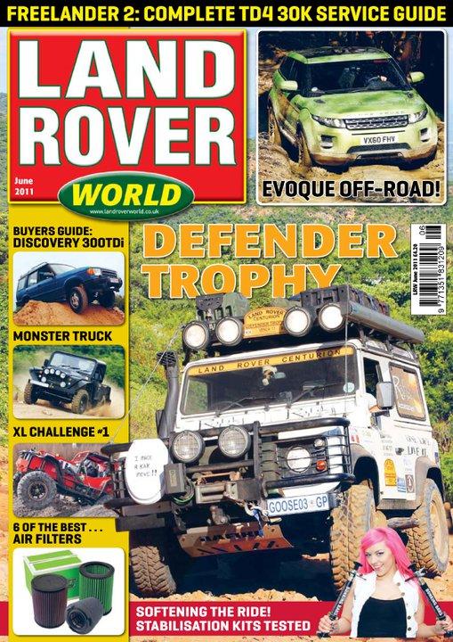 Land Rover World, June 2011